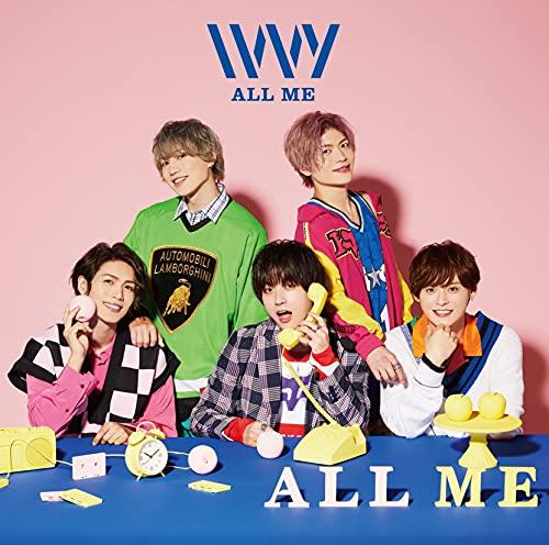 【Amazon.co.jp限定】ALL ME [初回限定盤] [CDS + Blu-ray] (Amazon.co.jp限定特典 : メガジャケ 付)