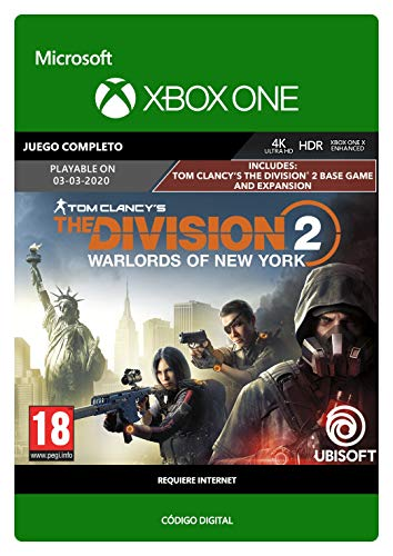 Tom Clancy's The Division 2: Warlords of New York | Xbox One - Código de descarga