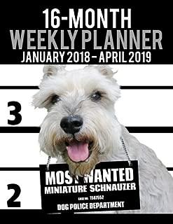 Best miniature schnauzer calendar 2018 Reviews