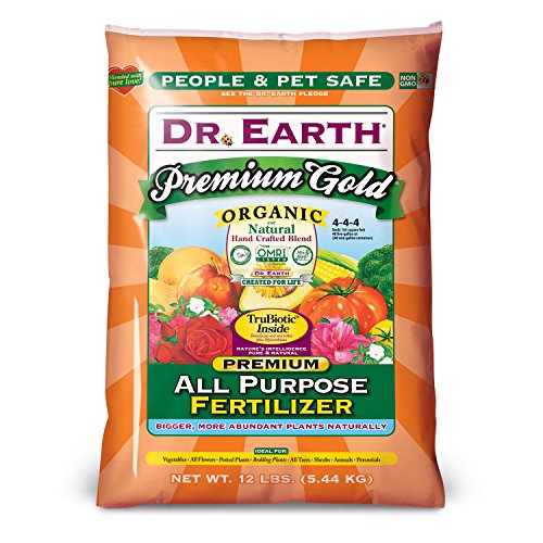 Premium Gold All Purpose Fertilizer by Dr. Earth