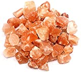 Spantik Himalayan Pink Salt Chunks 10 Lbs Bag 100% Authentic Pure Natural Rock Stones w 84 Traces Of Minerals Crystals | 1 .5 to 2.5 Inches X-Large chunks of rock himilian salt