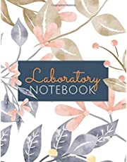 Laboratory Notebook: Grid-Based Carbonless Sheets - Size 8.5 x 11 - 150 Pages - Lab Log Book and Notebook - Gift Idea for Laboratory Students