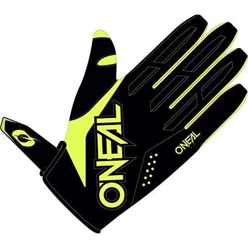 O'NEAL | Fahrrad- & Motocross-Handschuhe | MX MTB Downhill Freeride | Langlebige, Flexible Materialien, luftdurchlässige Mesh-Einsätze | Element Glove | Erwachsene | Neon-Gelb | Größe M