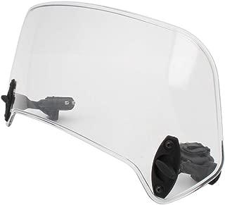 Flameer 360mm Motorcycle Scooter Windshield Windscreen Scratch Resistant Wind Deflector