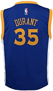 Outerstuff Kevin Durant Golden State Warriors #35 Blue Youth Road Replica Jersey