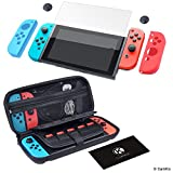 CamKix Kit de Grip et Protection compatible avec Nintendo Switch: Étui rigide en...