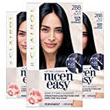 Clairol Nice'n Easy Permanent Hair Color, 2BB Blue Black, 3 Count