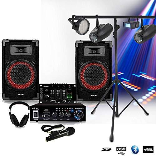 Pack SONO Complet DJ-PLAYER NIGHT + STROBES + LEDPAR + 2 AIRSHIP