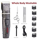 Best Cat Trimmers - IWEEL Dog Clippers, Professional Rechargeable Cordless Cat Shaver Review