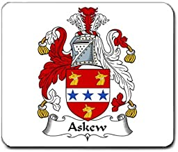 Askew Family Crest Coat of Arms Mouse Pad
