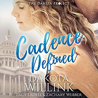 Cadence Defined     Cadence Duet, Book 2              By:                                                                                                                                 Dakota Willink                               Narrated by:                                                                                                                                 Zachary Webber,                                                                                        Lacy Laurel                      Length: 8 hrs and 3 mins     20 ratings     Overall 4.8