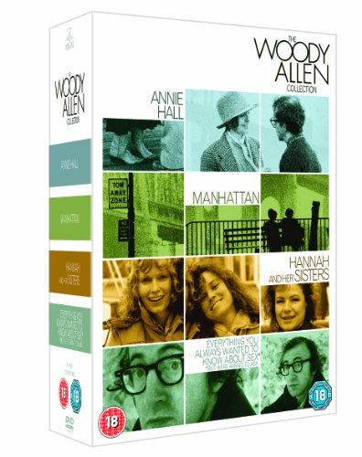 Woody Allen Collection: Best Of (4 Dvd) [Edizione: Regno Unito] [Reino Unido]