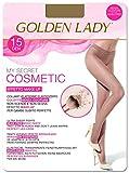 Goldenlady Mysecret 15 Cosmetic Medias, 15 DEN, Transparente (Melon 001a), Small (Talla...
