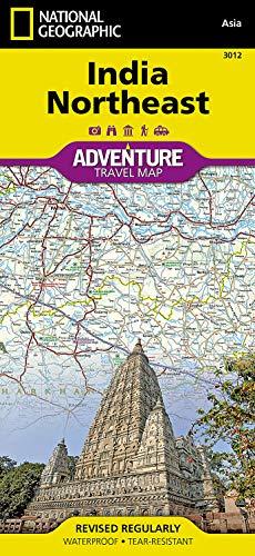 India Northeast: Travel Maps International Adventure Map (National Geographic Adventure Map, Band 3012)