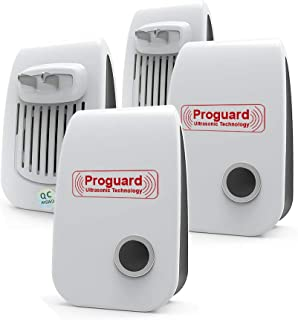 Ultrasonic Pest Repeller 4 Pack Upgraded Plug-in Control Electronic Insect Repellent for Insects, Mice,Ant, Mosquito, Spider, Rodent, Roach, Mosquito Repellent for Children and Pets' Safe
