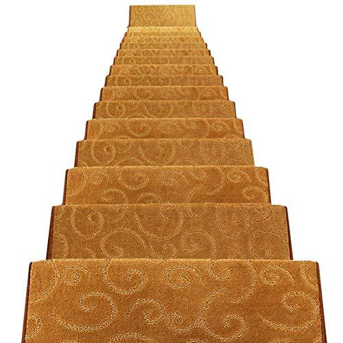 Alfombrillas de Escalera Alfombras de Escalera Alfombras de peldaños Alfombrillas de Paso Alfombras de Corredor Rectángulo Autoadhesivo Antideslizante Escalera Otomanas 5 Tamaños 4 Colores (Color: B,