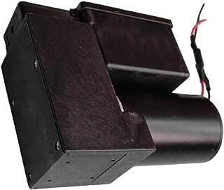 Kesoto Mini Vacuum Pump Negative Pressure Pump 12V -80Kpa 20L/MIN Flow 2.0Bar, Flow Adjustable