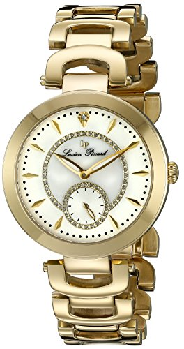 Lucien Piccard Casablanca Gold Crystal Ladies Watch LP-10268-YG-22