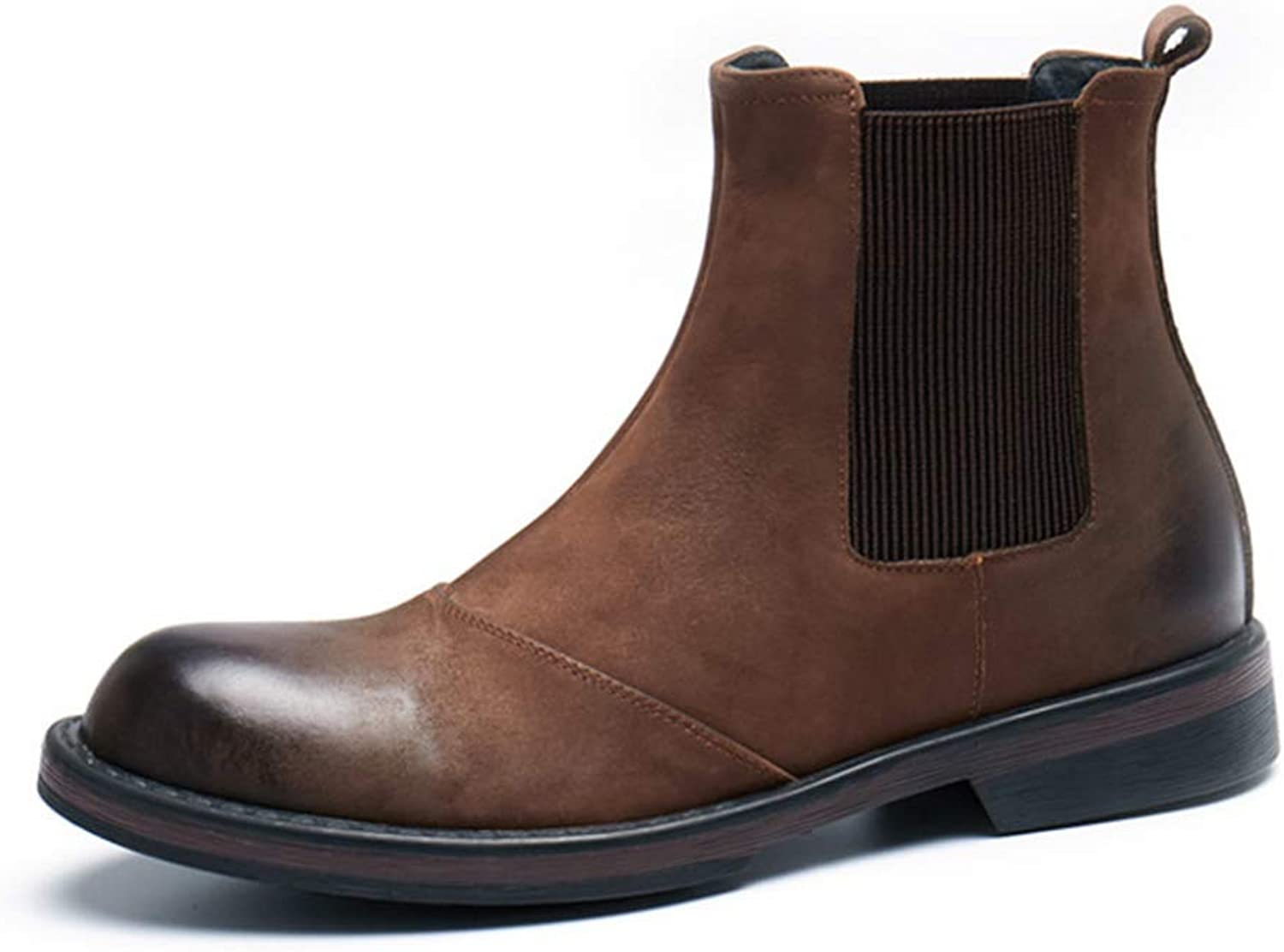 Chelsea Chelsea Chelsea Boots Short Boots Leather Martin Boots Desert Boots Retro Cowboy Boots AnBoots  spara upp till 70%