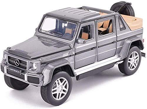 Coches a Escala Aleación de juguetes de simulación de la puerta abierta del modelo de coche de los niños de sonido brillante luz blanca/gris/gris del vehículo de camino Escalada Gran regalo para el Dí