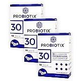 PROBIOTIX | 3 Pack | 30 Billones de Probióticos | 10 Cepas | 90 Cápsulas