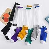 10 Paare Card Silk Stockings Parallel Bars Calf Stockings Women's Stockings Middle Stockings Nylon...