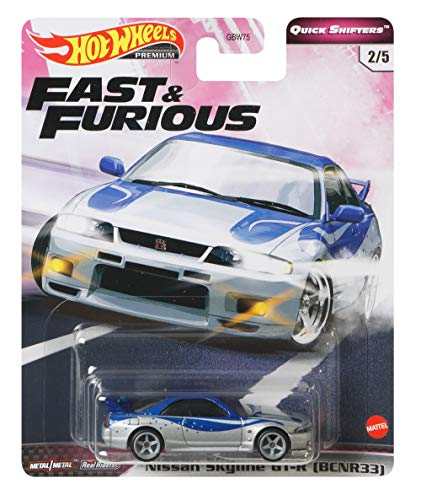 Hot Wheels X Fast and Furious Vehicle - Nissan Skyline R33