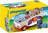 Playmobil 1.2.3 Airport Shuttle Bus - Kits de figuras de juguete para niños (1,5 año(s), Multicolor, Niño/niña, 200 mm, 90 mm, 80 mm)