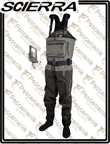 Scierra Wathose X-TECH 20000 Chest Wader Stocking Foot - XXL, 3.5