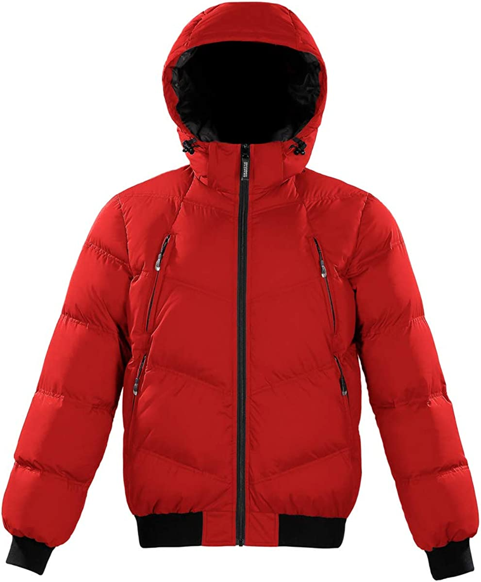 Triple F.A.T. Goose All items free shipping Reizen Mens Puffer Jacket Max 42% OFF 750 Fill Down Po
