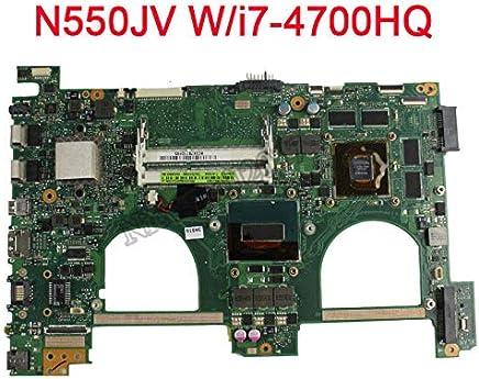 FidgetGear for N550JV Motherboard w/Intel i7-4700HQ 2.4Ghz CPU 60NB00K0-MB9000 GT750M