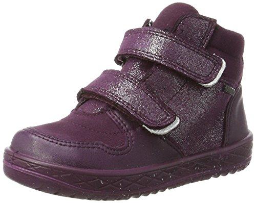Superfit Mädchen Mercury Hohe Sneaker, Violett (Eggplant Kombi), 35 EU