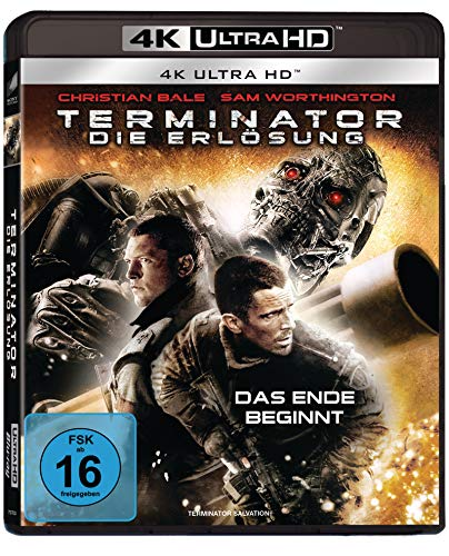 Terminator - Die Erlösung - Director's Cut (4K Ultra HD)