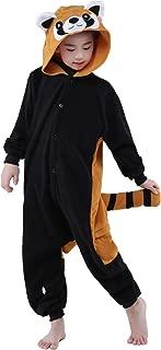 Kids Custume Onesie Animal Unisex Pajamas Children (4-10T)