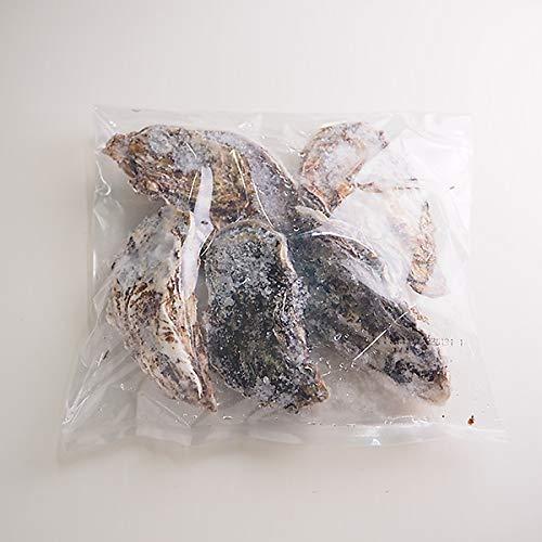 築地魚群 邑久(おく)の牡蠣 (殻付生冷) 岡山県虫明湾産 5個×4パック 冷凍便