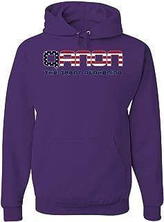 QANON The Great Awakening Hoodie Political WWG1WGA Deep State Sweatshirt