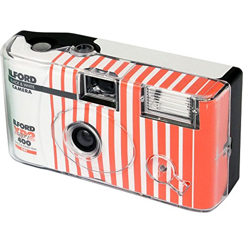 Ilford XP2 Super Single Use Camera with Flash (27 Exposures) Black and White Film CAT1174186