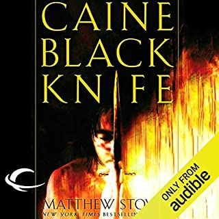 Caine Black Knife audiobook cover art