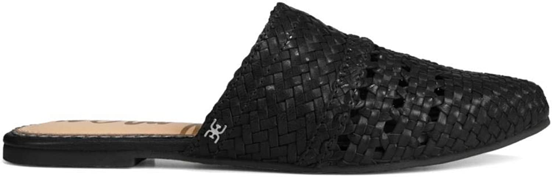 Sam Edelman Women's Natalya Black Woven Leather 6.5 M US