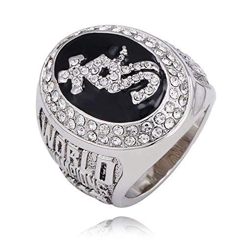 Champion Ring Fan High-End Collection Ring Fans Anillo de Decoración de Regalo, XIYUN