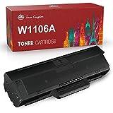 Toner Kingdom 106A Cartuchos de Tóner de Repuesto para HP 106A W1106A Compatible con HP Laser 107a 107r 107w MFP 135a MFP 135w MFP 135r MFP 137fnw MFP 135wg MFP 137fwg (1 Negro, con Chip)