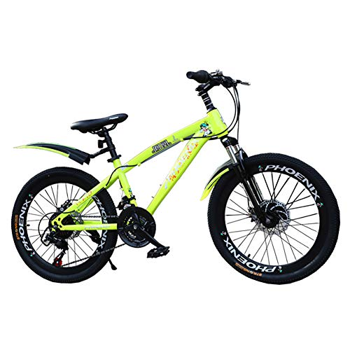 YJTGZ JYetzxc Bicycles Schoolchildren Bicycle 18 Inch 20 Inch Boy and Girl Outdoor Bicycle...