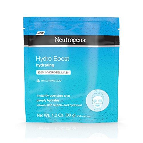 Neutrogena Hydro Boost Moisturizing & Hydrating 100% Hydrogel Face Mask Sheet with Hyaluronic...
