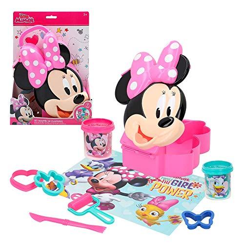 Disney – Scatola 3D Plastilina stampi & Utensili Minnie (Colorbaby 77191)