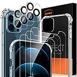 AloMit Panzerglas für iPhone 12 Pro Max Schutzfolie,