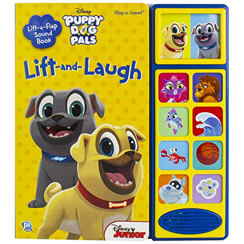 Disney Junior Puppy Dog Pals - Lift and Laugh Out Loud Sound Book - PI Kids (Play-A-Sound)
