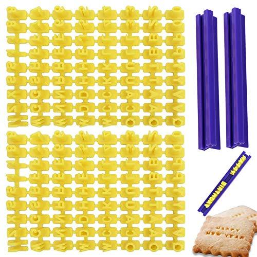 Alfabeto Lettere Biscotti Stampo Set Timbro Fondente 2 Set Timbri Per Dolci Cookie Cutter Set Forma Biscotti Alfabeto Stampi Per Fondente Fai Da Te Per Fare Biscotti Glassa Pasticcini Cucina Marzapane