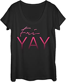 Chin Up Women's Yay Friday Scoop Neck T-Shirt