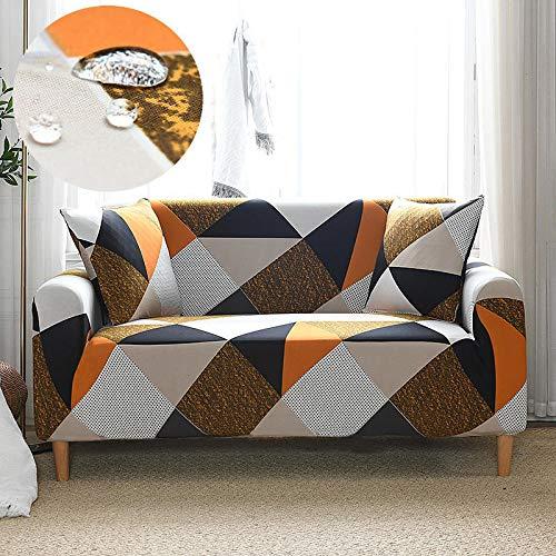 Suite De Sofá Elástico Impermeable, Funda De Sofá Simple con Todo Incluido, Tela De Cobertura Completa, Cuatro Estaciones, Adecuada para Sala De Estar Modelo