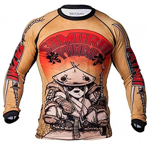 Tatami Fightwear Samurai Panda - Protector de erupciones para Hombre, Color Amarillo, M